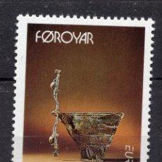 Sellos: ISLAS FAROE, 1993 EUROPA , MICHEL 249. Lote 291573813