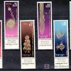 Sellos: ISRAEL 294/9 BANDELETA, SIN CHARNELA, AÑO NUEVO, CREACION DEL MUNDO, . Lote 8576100
