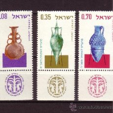 Sellos: ISRAEL 260/62*** - AÑO 1964 - AÑO NUEVO - ÁNFORAS ANTIGUAS. Lote 23994537