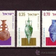 Sellos: ISRAEL 260/62*** - AÑO 1964 - AÑO NUEVO - ÁNFORAS ANTIGUAS. Lote 23994539