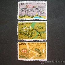 Sellos: ISRAEL 1983 IVERT 865/7 *** ASENTAMIENTO DE LAS REGIONES . Lote 29644340