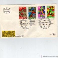 Sellos: ISRAEL AÑO 1972 Nº YVERT 472 - 75 SOBRE PRIMER DIA. Lote 39596360