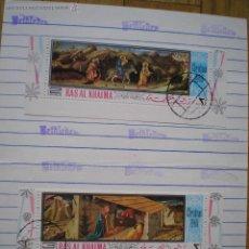 Sellos: 3 SELLOS DE LA CIUDAD DE BELEN, CRISMA 1.968. Lote 41564320