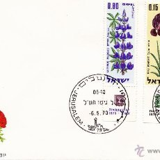 Sellos: SOBRE PRIMER DÍA. AÑO 1970. ISRAEL.. Lote 45829315