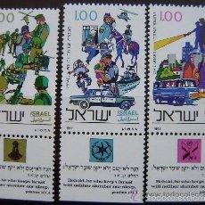 Israel 1977 Ivert 652/4 *** Cuerpo de la Policia en Israel
