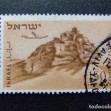 Sellos: ISRAEL 1953 - 56 ROCHER DU LION YVERT & TELLIER N PA 12 º FU. Lote 68916029
