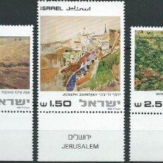 Sellos: ISRAEL,1981,PINTURA,MNH**. Lote 69814194