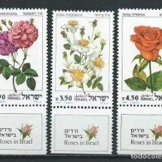 Sellos: ISRAEL,1981,ROSAS,MNH**. Lote 69814302