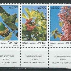 Sellos: ISRAEL,1981,ÁRBOLES,MNH**. Lote 69814310