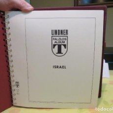Album con coleccion completa de sellos de Israel años 1970 a 1981