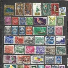 Sellos: G237B-LOTE SELLOS ESTADO ISRAEL SIN REPETIDOS,SIN TASAR,INTERESANTES,ESCASOS,FOTO REAL. ************. Lote 91372605