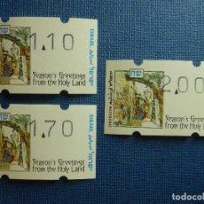 Sellos: SELLO - ISRAEL - LOTE DE 3 - DIFERENTES VALORES - NUEVOS -. Lote 91975750