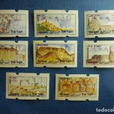 Sellos: SELLO - ISRAEL - LOTE DE 8 SELLOS - DIFERENTES VALORES - NUEVOS -. Lote 91975765