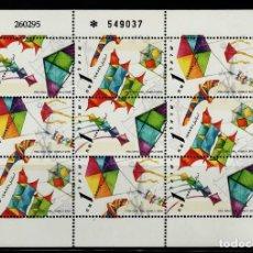 Selos: SELLOS ISRAEL 1995 1284/86 COMETAS MINI HOJA 3V.. Lote 105976855