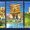 Sellos: ISRAEL.- CATÁLOGO YVERT Nº 1386/88, EN USADO.. Lote 117014707