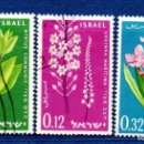 Sellos: ISRAEL.- CATÁLOGO YVERT Nº 200/202, EN USADO.. Lote 117014915