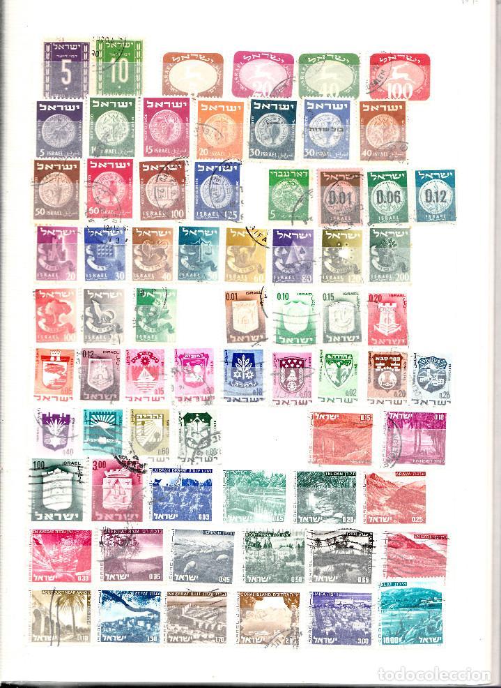 COLECCION DE 200 SELLOS DISTINTOS DE ISRAEL (Sellos - Extranjero - Asia - Israel)