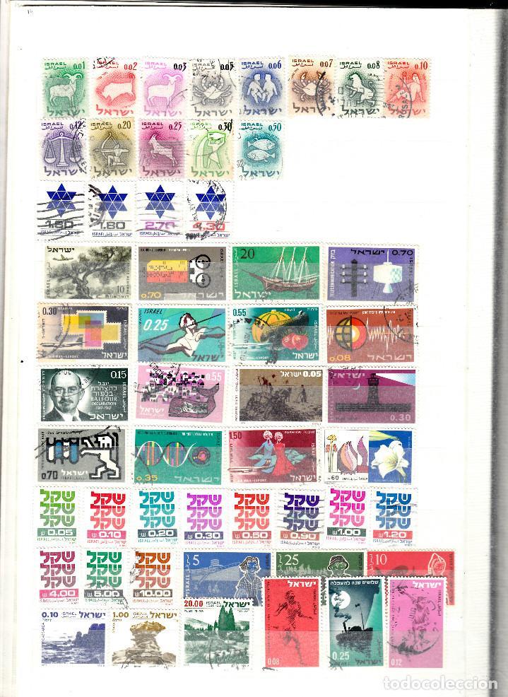 Sellos: COLECCION DE 200 SELLOS DISTINTOS DE ISRAEL - Foto 2 - 124652927