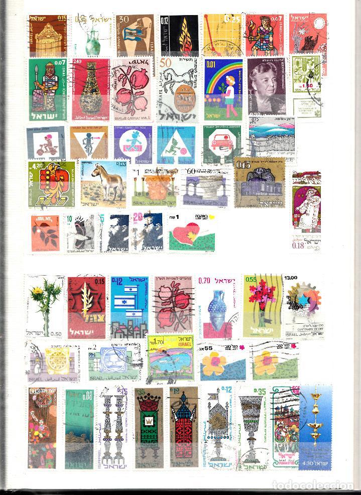 Sellos: COLECCION DE 200 SELLOS DISTINTOS DE ISRAEL - Foto 3 - 124652927