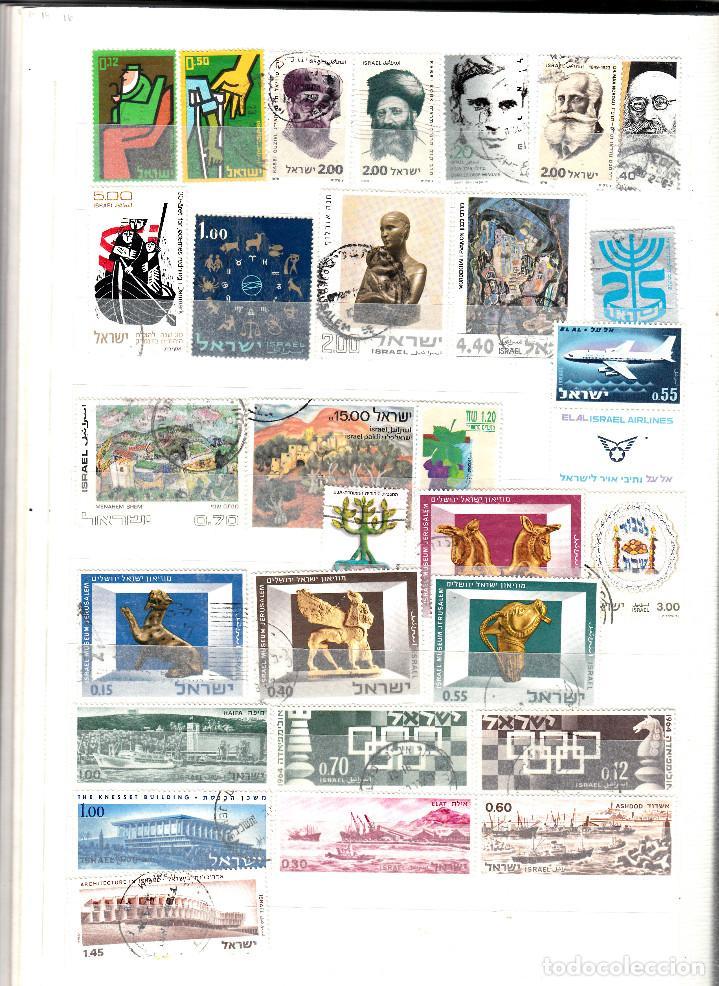 Sellos: COLECCION DE 200 SELLOS DISTINTOS DE ISRAEL - Foto 4 - 124652927