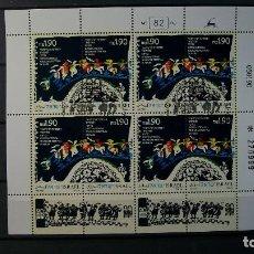 Sellos: ISRAEL-1990-MINIPLIEGO Y&T 1104/5//º/. Lote 141318654