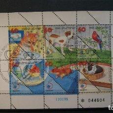Sellos: ISRAEL-1998-MINIPLIEGO Y&T 1408/13/º/. Lote 141319090