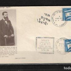 Sellos: ISRAEL 1949 SOBRE PRIMER DIA. Lote 146223510