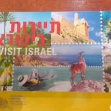 Sellos: SELLOS ISRAEL NUVOS EN CARNET. Lote 146659053