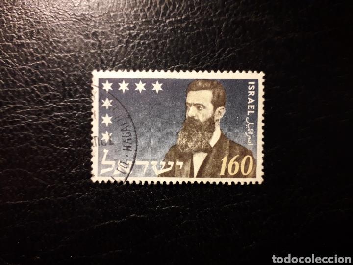 ISRAEL. YVERT 78 SIN TAB. SERIE COMPLETA USADA. THEODOR HERZL. (Sellos - Extranjero - Asia - Israel)
