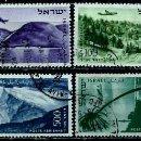 Sellos: ISRAEL MICHEL: 0080/86-(1953) (CORREO AEREO; PAISAJES) USADO. Lote 163513078