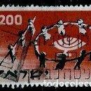 Sellos: ISRAEL MICHEL: 0166-(1958) (JÓVENES BAILARINES FORMANDO ''10'') USADO. Lote 164736150