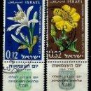 Sellos: ISRAEL MICHEL: 0214/215-(1960) (12º ANIVERSARIO DE LA INDEPENDENCIA) (CON TAB) USADO. Lote 165089458