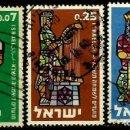 Sellos: ISRAEL MICHEL: 0217/219-(1960) (AÑO NUEVO JUDIO-REYES DE ISRAEL) USADO. Lote 165091110