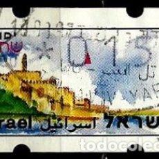 Sellos: ISRAEL MICHEL: AT10-(1994) (ATM-KLUSENDORFF) (YAFO) (0.15) (USADO). Lote 175297334