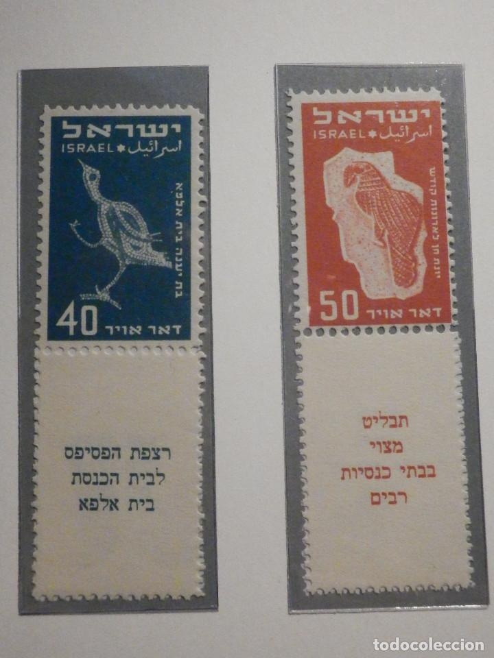 Sellos: Israel Correo Aereo - Año 1950 - Yvert & Tellier Nº 1 a 6 - Nuevos - Exposicion filatelica Taba - Foto 3 - 194254991