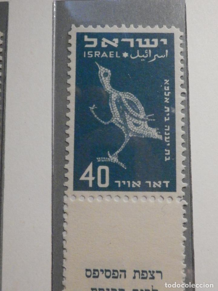 Sellos: Israel Correo Aereo - Año 1950 - Yvert & Tellier Nº 1 a 6 - Nuevos - Exposicion filatelica Taba - Foto 8 - 194254991
