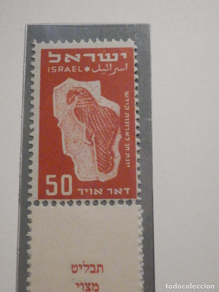 Sellos: Israel Correo Aereo - Año 1950 - Yvert & Tellier Nº 1 a 6 - Nuevos - Exposicion filatelica Taba - Foto 9 - 194254991