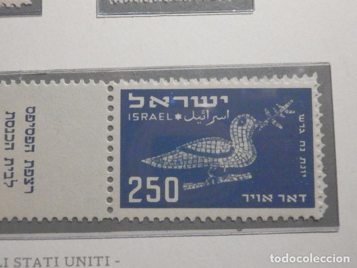 Sellos: Israel Correo Aereo - Año 1950 - Yvert & Tellier Nº 1 a 6 - Nuevos - Exposicion filatelica Taba - Foto 11 - 194254991