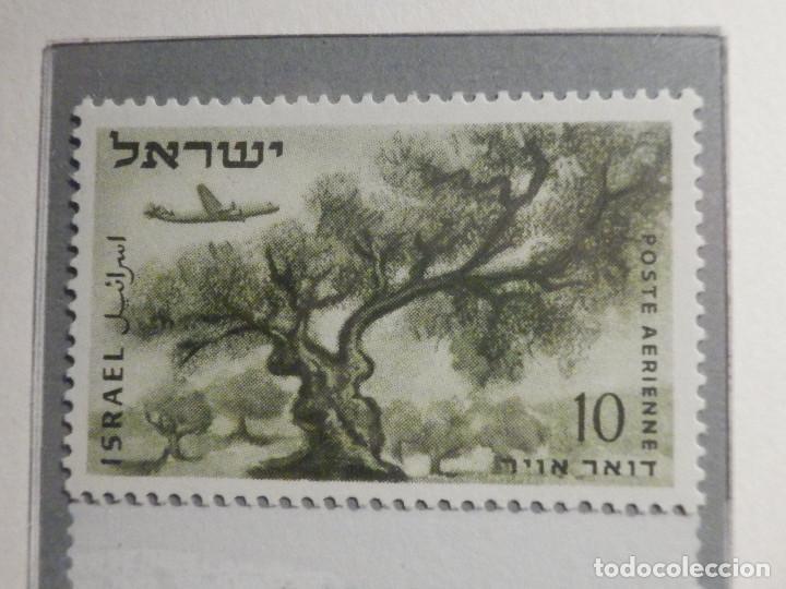 Sellos: Israel Correo Aereo - Año 1953 - 56 Yvert & Tellier Nº 9 al 17 - Nuevos - - Foto 2 - 194255158