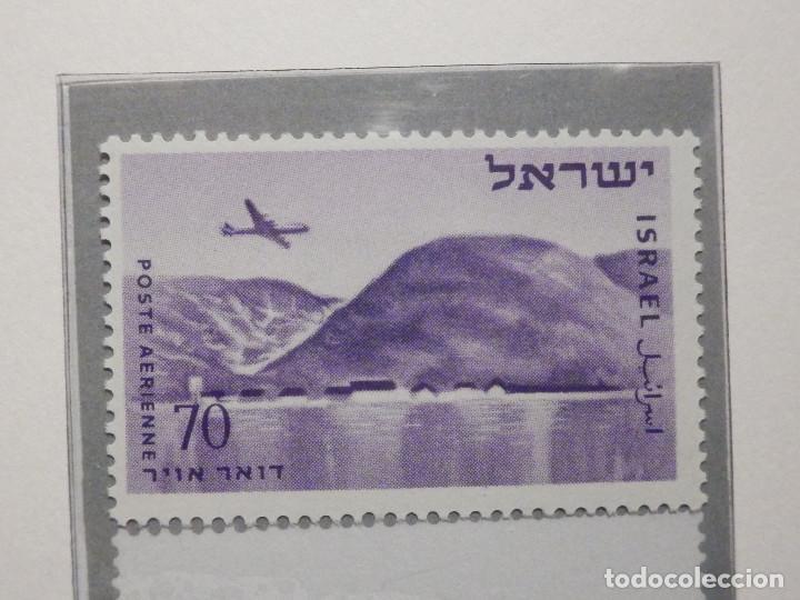 Sellos: Israel Correo Aereo - Año 1953 - 56 Yvert & Tellier Nº 9 al 17 - Nuevos - - Foto 3 - 194255158
