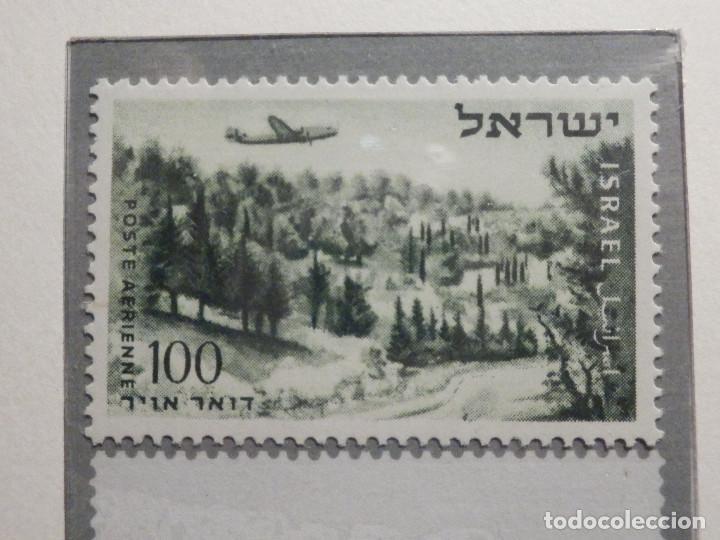 Sellos: Israel Correo Aereo - Año 1953 - 56 Yvert & Tellier Nº 9 al 17 - Nuevos - - Foto 4 - 194255158