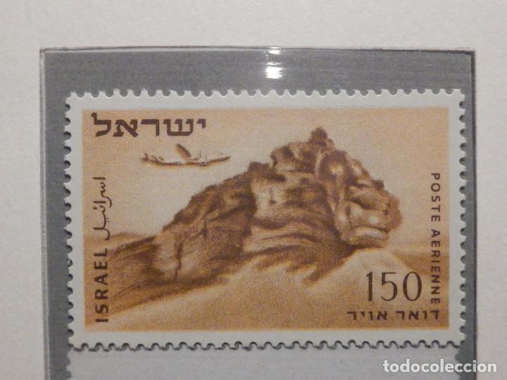 Sellos: Israel Correo Aereo - Año 1953 - 56 Yvert & Tellier Nº 9 al 17 - Nuevos - - Foto 5 - 194255158