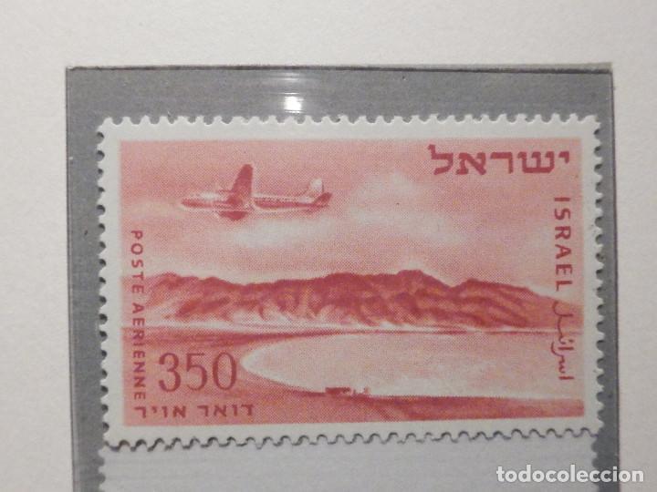 Sellos: Israel Correo Aereo - Año 1953 - 56 Yvert & Tellier Nº 9 al 17 - Nuevos - - Foto 6 - 194255158