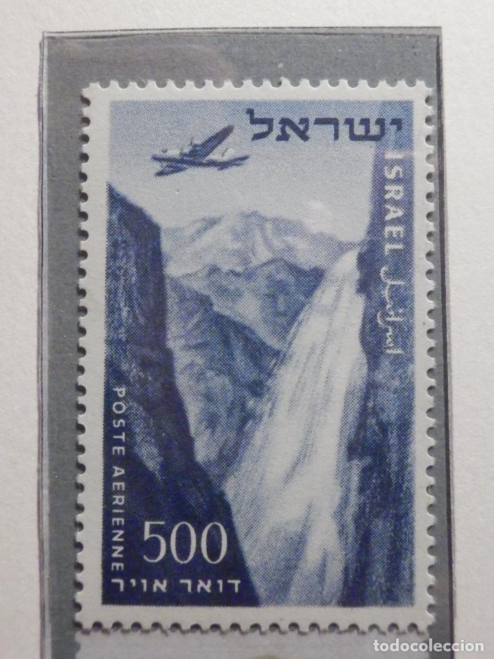 Sellos: Israel Correo Aereo - Año 1953 - 56 Yvert & Tellier Nº 9 al 17 - Nuevos - - Foto 7 - 194255158