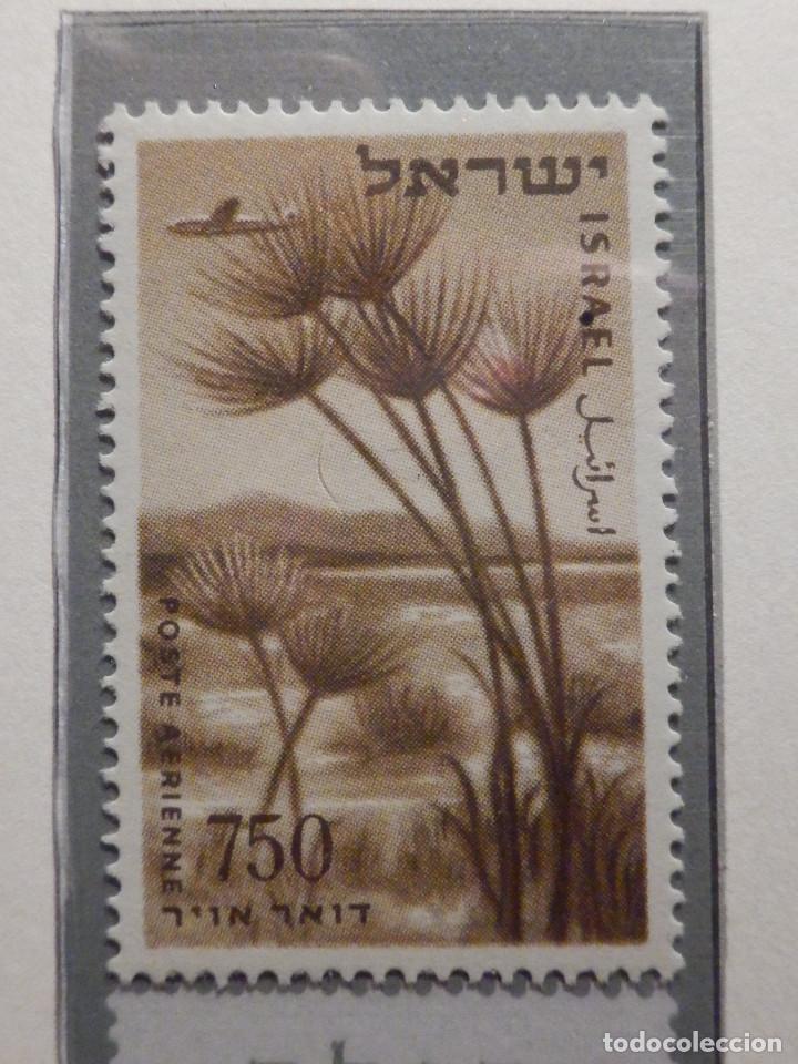 Sellos: Israel Correo Aereo - Año 1953 - 56 Yvert & Tellier Nº 9 al 17 - Nuevos - - Foto 8 - 194255158