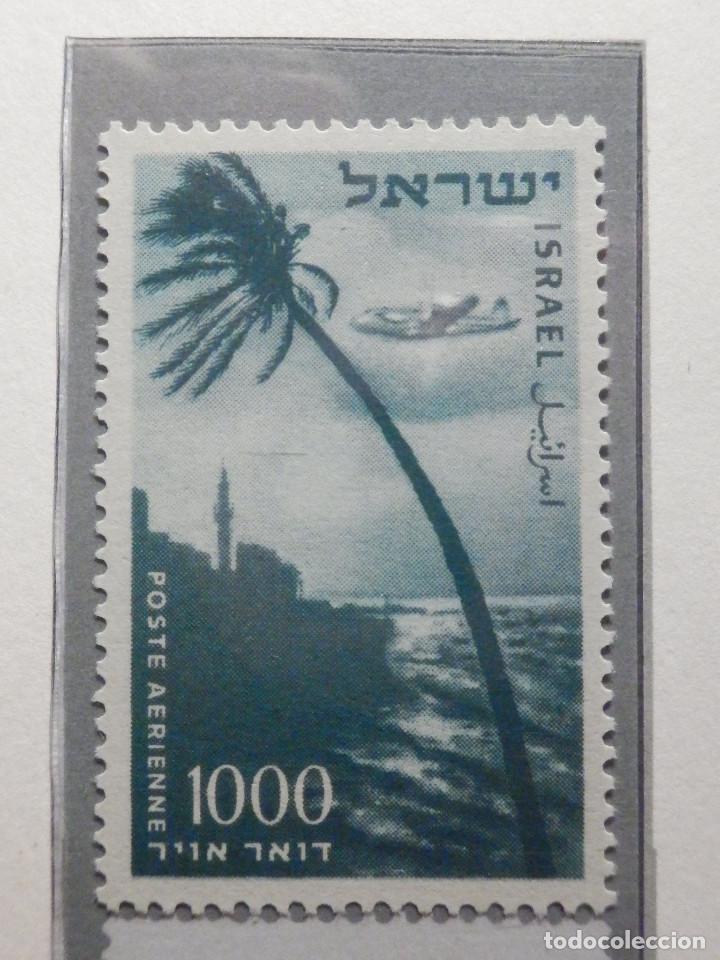 Sellos: Israel Correo Aereo - Año 1953 - 56 Yvert & Tellier Nº 9 al 17 - Nuevos - - Foto 9 - 194255158