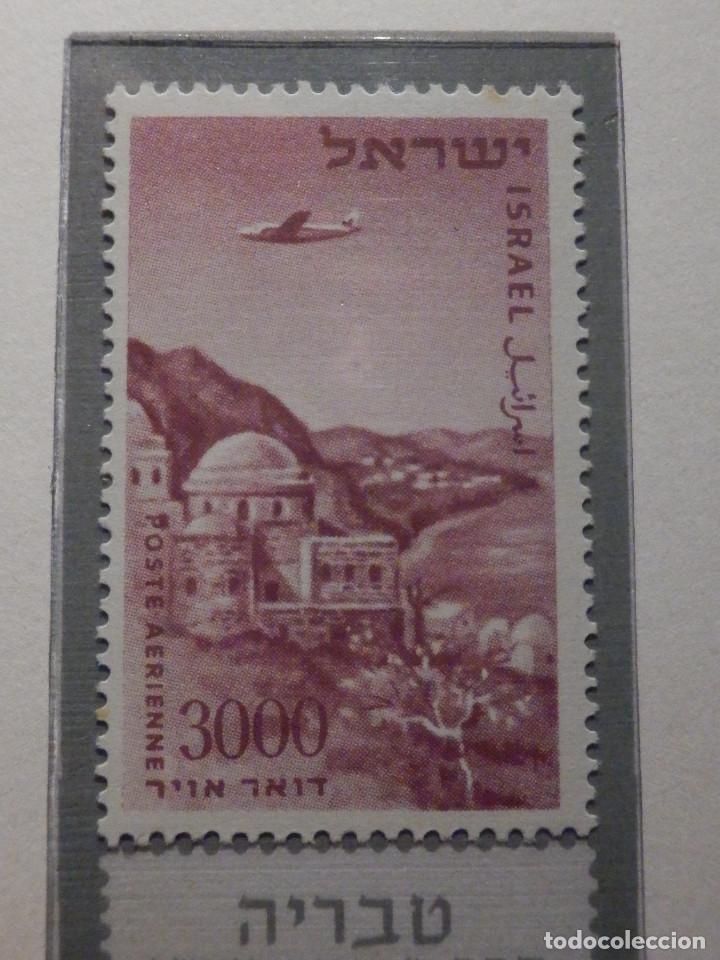 Sellos: Israel Correo Aereo - Año 1953 - 56 Yvert & Tellier Nº 9 al 17 - Nuevos - - Foto 10 - 194255158