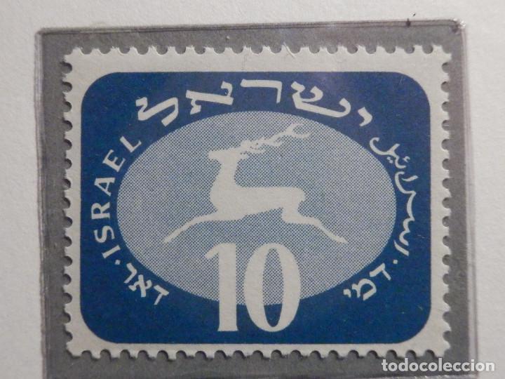 Sellos: Israel Tasas - Taxe - Segnatasse - Año 1952 Yvert & Tellier Nº 12 al 20 - Nuevos - Fiscales - Foto 3 - 194255221
