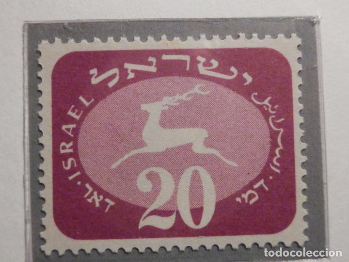 Sellos: Israel Tasas - Taxe - Segnatasse - Año 1952 Yvert & Tellier Nº 12 al 20 - Nuevos - Fiscales - Foto 4 - 194255221