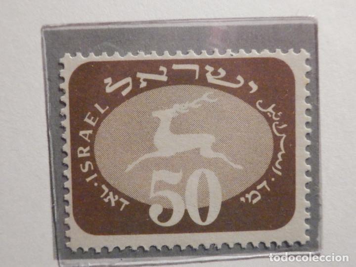 Sellos: Israel Tasas - Taxe - Segnatasse - Año 1952 Yvert & Tellier Nº 12 al 20 - Nuevos - Fiscales - Foto 7 - 194255221